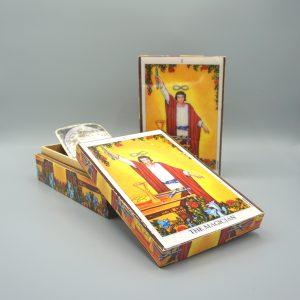 caja madera el mago