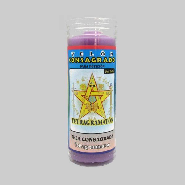 Velón Consagrado Tetragramaton