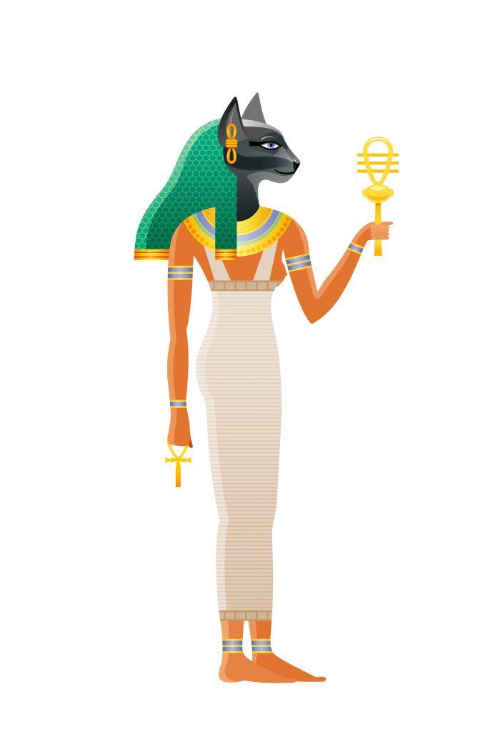 La antigua diosa egipcia bastet.